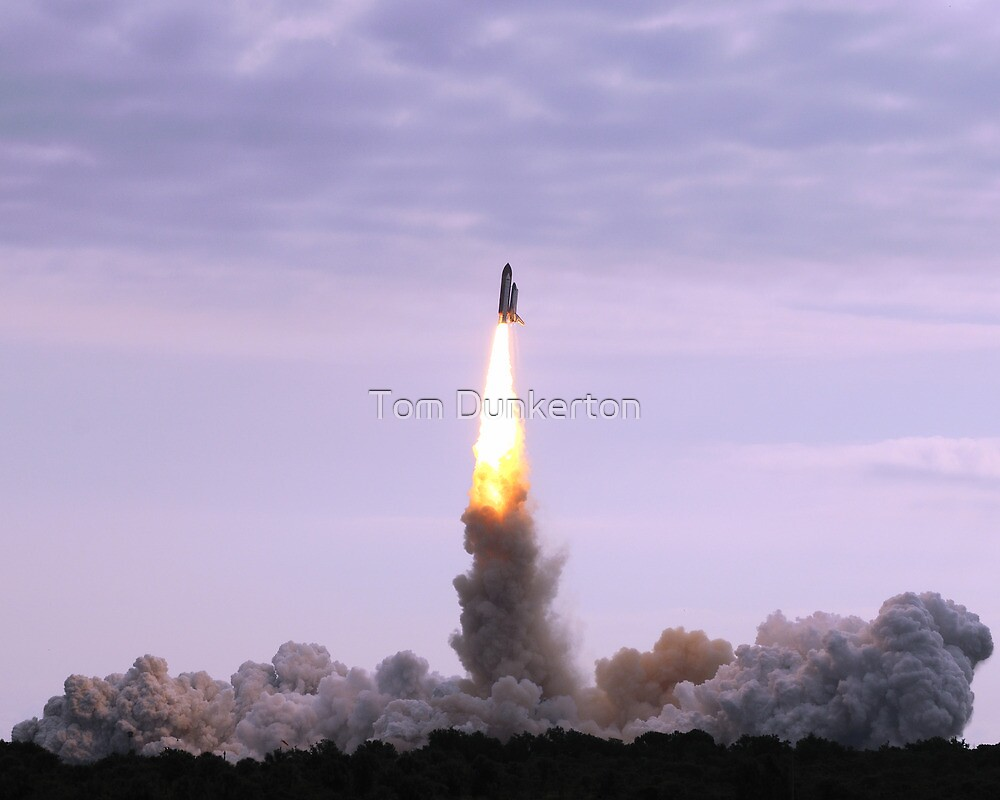 STS-134 Space Shuttle Endeavour 5/16/11 by Tom Dunkerton