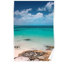 cancun beach Poster