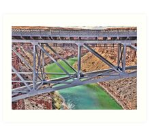 Navajo Bridge Art Print