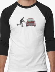 A Damn Good Thrashing! Men's Baseball ¾ T-Shirt