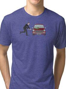A Damn Good Thrashing! Tri-blend T-Shirt