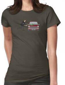 A Damn Good Thrashing! Womens Fitted T-Shirt