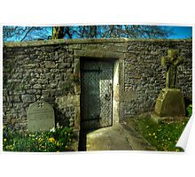 Church Yard Gate Poster