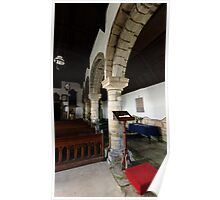 Edlingham Church Arches Poster