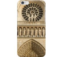 Notre Dame de Paris - 4 - The Three Portals ©  iPhone Case/Skin