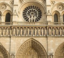 Notre Dame de Paris - 4 - The Three Portals ©  by © Hany G. Jadaa © Prince John Photography