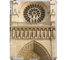 Notre Dame de Paris - 4 - The Three Portals ©  iPad Case/Skin