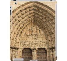 Notre Dame de Paris - 5 - The Portal Of The Last Judgment ©  iPad Case/Skin