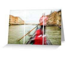 Expedition In Venezia XII Greeting Card