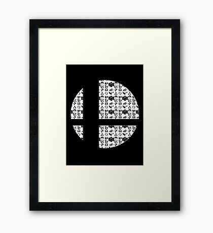 Classic Smash Framed Print