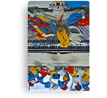 Red, Yellow, Blue & White. Canvas Print