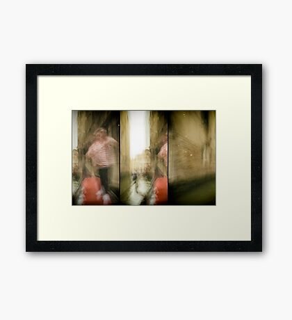 Expedition In Venezia XVI Framed Print