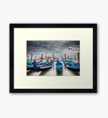 Expedition In Venezia XIX Framed Print