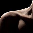 run fingers along the collarbone by kseniada