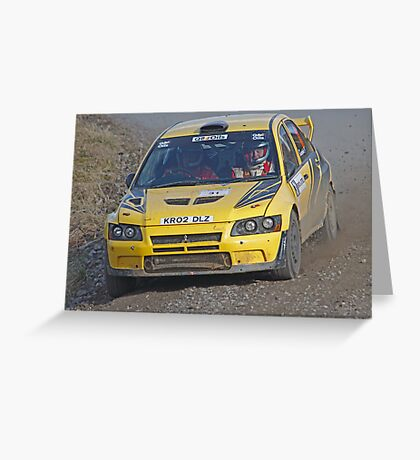 Evo on the Pace Greeting Card