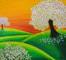 2 trees by ClaudiaTuli
