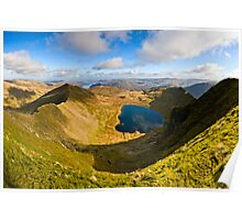 Red Tarn, Helvellyn. Cumbria. UK Poster