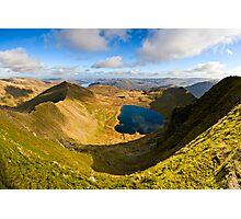 Red Tarn, Helvellyn. Cumbria. UK Photographic Print