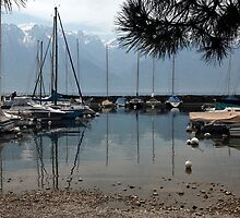 lake geneva boats by milena boeva