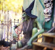 Halloween Witch by Debbra Obertanec