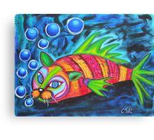 Catfish - surf n'turf Canvas Print