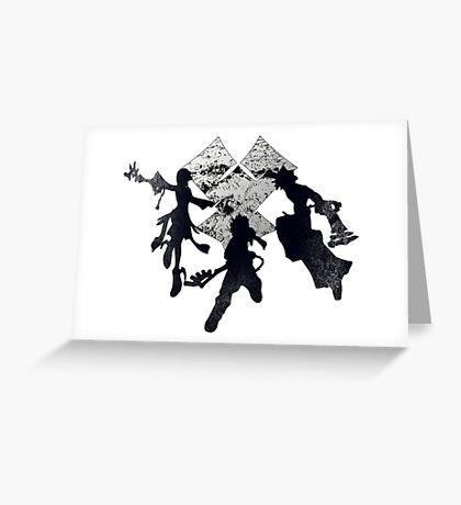 Keyblade War Greeting Card