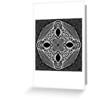 Alien Sand Dollar Greeting Card