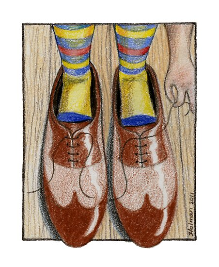 Daddy's Shoes by Laura J. Holman