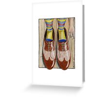 Daddy's Shoes Greeting Card