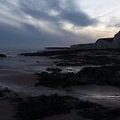 Last light at Burling Gap, East Sussex, UK by DJ-Stotty