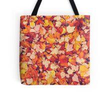 Scarlet Leaves  Tote Bag