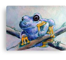 Frog Chillin Canvas Print