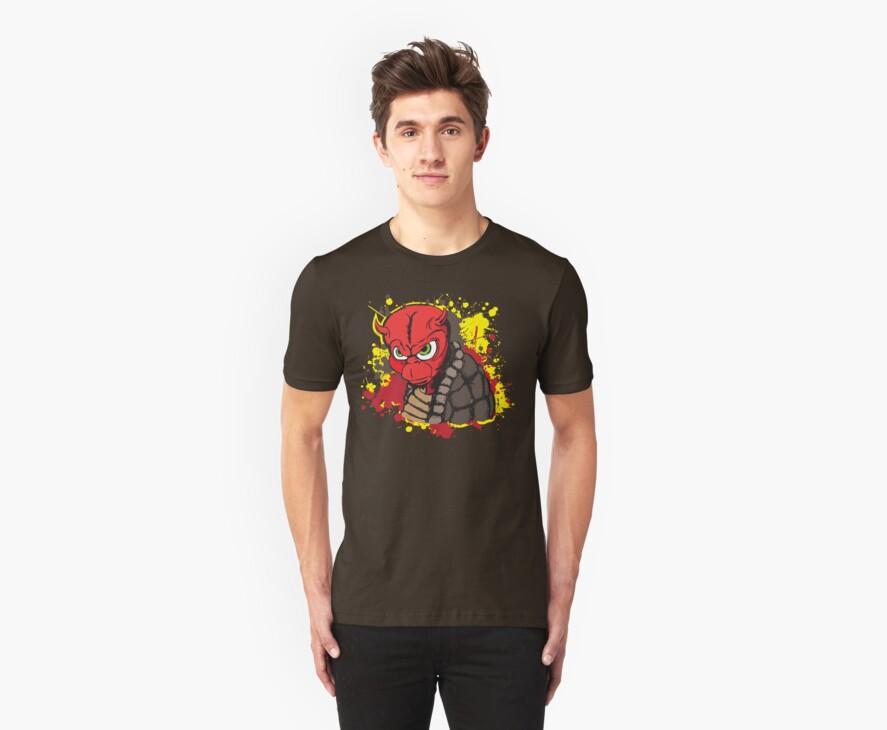 Evil Turtle by FredzArt