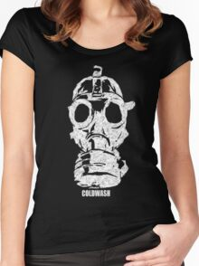 GAS MASK Women's Fitted Scoop T-Shirt