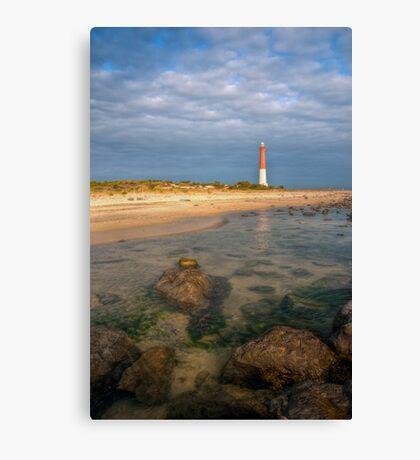 Lighthouse at Barnegat Canvas Print