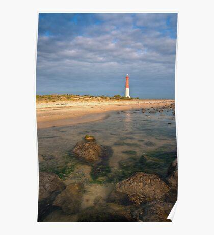 Lighthouse at Barnegat Poster