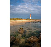 Lighthouse at Barnegat Photographic Print