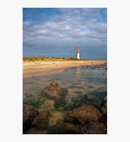 Lighthouse at Barnegat Photographic Print