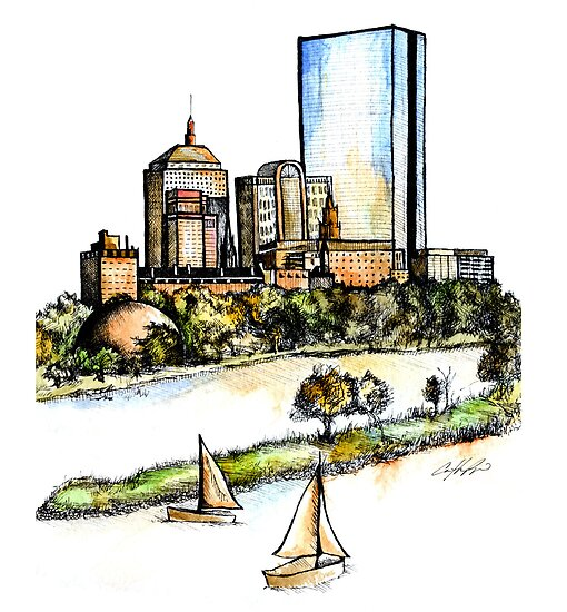 Scenic Boston by Caitlin Ryan