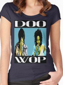 LAURYN HILL - DOO WOP Women's Fitted Scoop T-Shirt