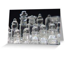 Chess Bishop Greeting Card