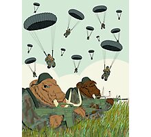 mammoth paratroopers Photographic Print