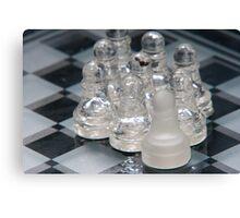 Chess Follow Canvas Print