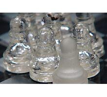 Chess Follow 2 Photographic Print