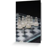 Chess Queen Following 2 Greeting Card