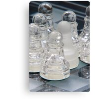 Chess Surrounded 2 Canvas Print