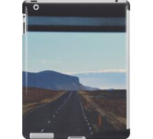 disappear in the horizon, into the memory of the sun iPad Case/Skin