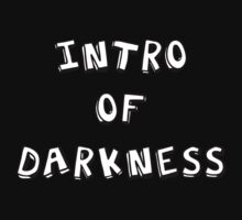 Intro of Darkness by Rachel Miller