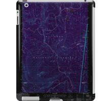 USGS Topo Map Oregon Pinhead Buttes 281102 1997 24000 Inverted iPad Case/Skin