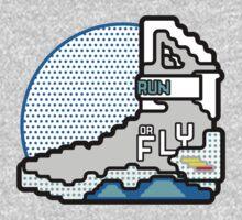 Run Or Fly One Piece - Long Sleeve